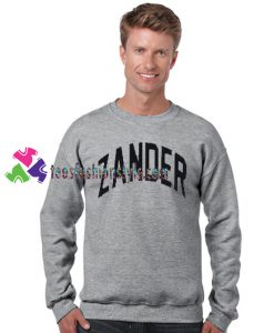 Zander Sweatshirt Gift sweater adult unisex cool tee shirts