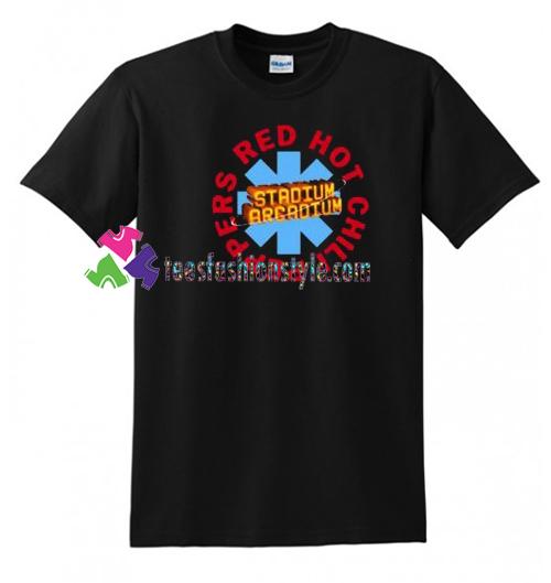 Red Hot Chili Peppers Stadium Arcadium T Shirt gift tees unisex adult cool tee shirts