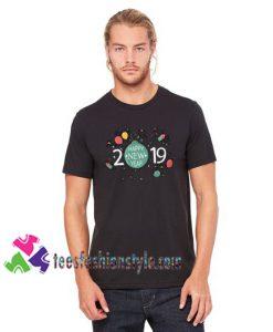 2019 New Year Shirt Happy 2019 T Shirt gift tees unisex adult cool tee shirts
