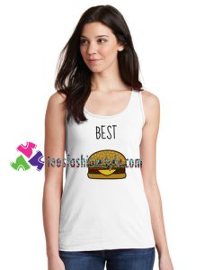 Best Hamburger Tank top gift tanktop shirt unisex custom clothing Size S-3XL