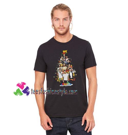Christmas Maroon 5 Adam Levine Christmas Tree Shirt gift tees unisex adult cool tee shirts