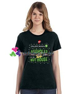 Christmas Vacation Shirt Jolliest Bunch Of Assholes This Side Of The Nuthouse T Shirt Movie Shirt gift tees unisex adult cool tee shirts
