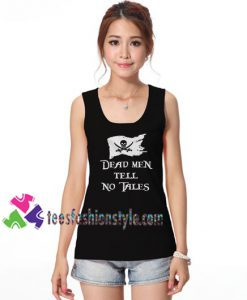 Dead men tell no tales Disney tank top, pirates of the caribbean gift tanktop shirt unisex custom clothing Size S-3XL