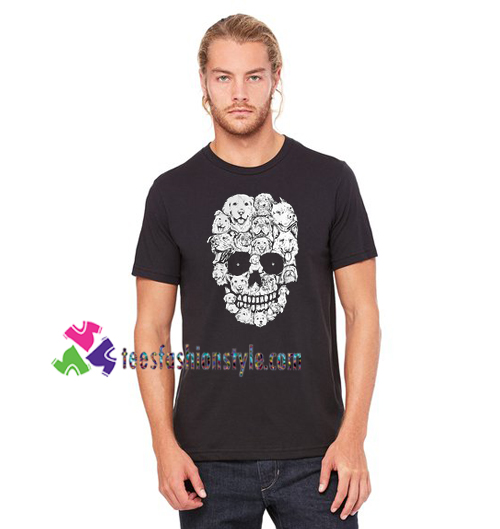 764d725ada Dogs Stacked Into Skull Shirt gift tees unisex adult cool tee shirts