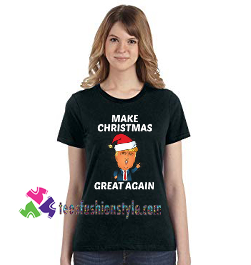 716a8cfb4 Donald Trump Christmas T Shirt Make Christmas Great Again T Shirt gift tees  unisex adult cool ...