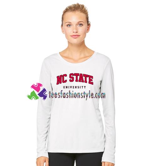 NC State University Sweatshirt Gift sweater adult unisex cool tee shirts