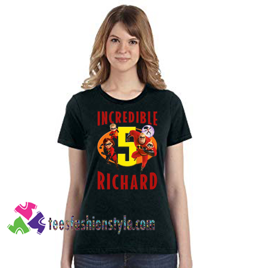 Personalized The Incredibles Birthday T Shirt Image 2 Gift Tees Unisex Adult Cool