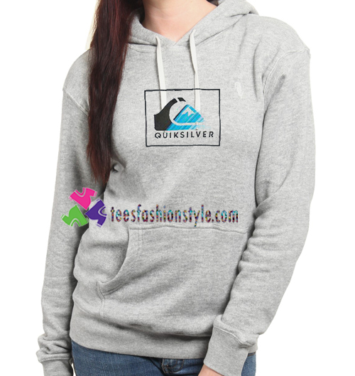 Quicksilver Logo Hoodie gift cool tee shirts cool tee shirts for guys