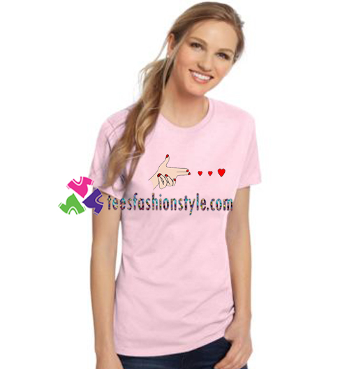 Shoot Love T Shirt gift tees unisex adult cool tee shirts