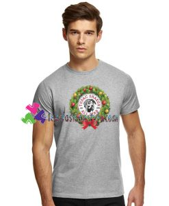 Tupac Shakur Christmas Wreath All Star Shirt Tupac Shakur Shirt gift tees unisex adult cool tee shirts