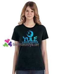 Yule Winter Solstice Shirt December Solstice Shirt gift tees unisex adult cool tee shirts