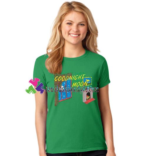 Goodnight Moon T Shirt gift tees unisex adult cool tee shirts