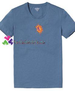 Yin Yang Sun T Shirt gift tees unisex adult cool tee shirts