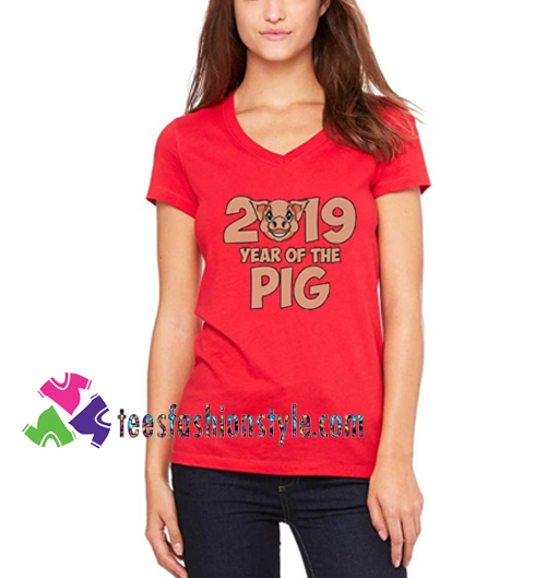 Chinese Year Of The Pig 2019 T shirt gift tees unisex adult cool tee shirts