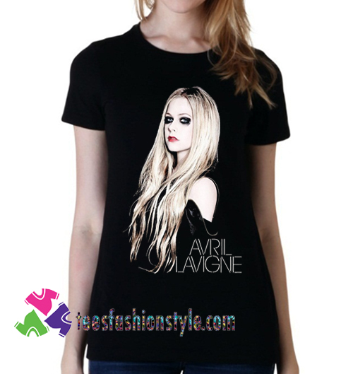 Newest Fashion Singer Avril Lavigne, T shirt gift tees unisex adult cool tee shirts