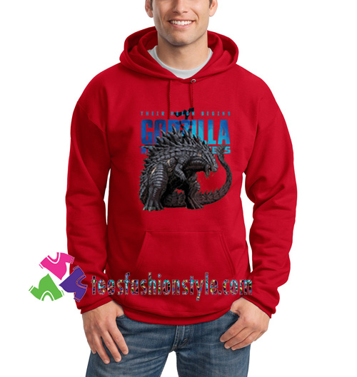 Godzilla King of the Monster, Hoodie gift cool tee shirts cool tee shirts for guys