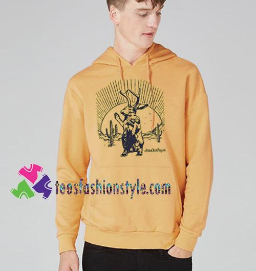 Jackalope Hoodie UFO Hoodie gift cool tee shirts cool tee shirts for guys