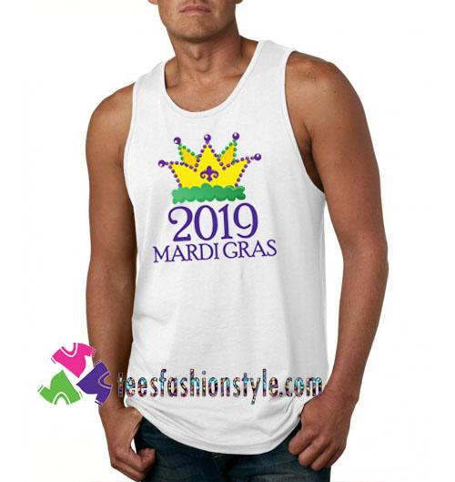 Shrove Tuesday/Mardi Gras tanktop shirt unisex custom clothing Size S-3XL