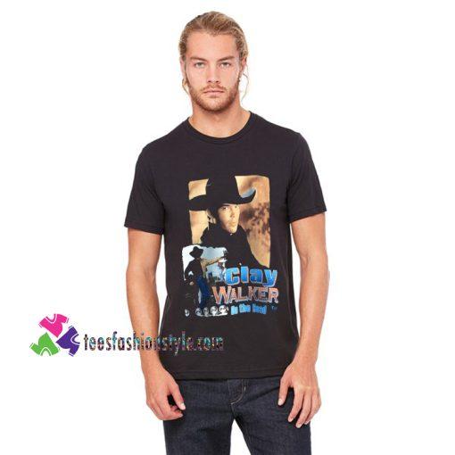 1995 Clay Walker vintage tshirt, band tee