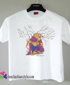 90s Beauty and the Beast All Over Print Vintage, Movie