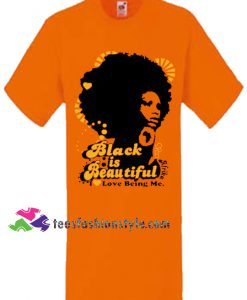 Black is Beautiful Orange, Women, Unisex