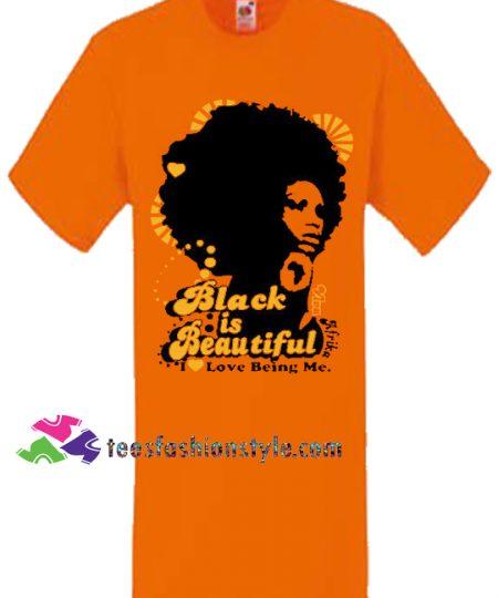 Black is Beautiful Orange, Women, Unisex