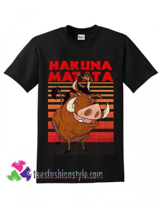 Disney Lion King Timon Pumbaa Hakuna Matata