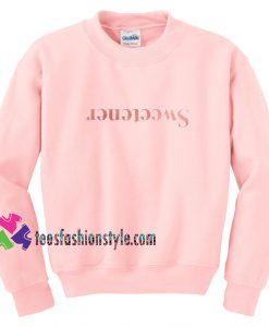 Sweetener Relaxed, Pink, Fan Unisex sweatshirts