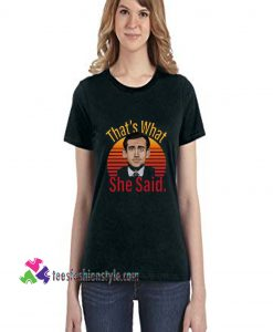Thats what she said, The Office Shirt, Michael Scott, Funny