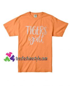 Tigers Yall, Grunge, Sport Tee, Fathers Day