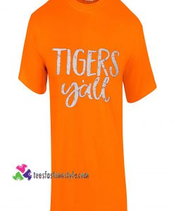 Tigers Yall, Grunge, Sport Tee, Tigers, Fathers
