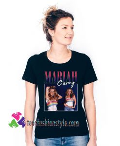Mariah Carey Homage Singer Pop Singer Adult Unisex tee shirts