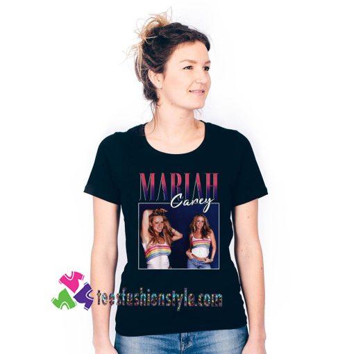 Mariah Carey Homage Singer Pop Singer Adult Unisex tee shirts