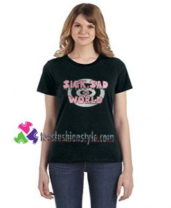 SICK SAD WORLD, Rose Gold, Silver Vinyl, Daria inspired tee shirts
