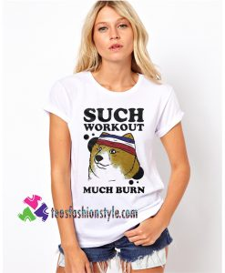Such Workout Much Burn, Funny Meme Gym Jogging Jogger