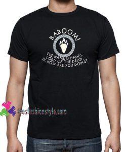 Unisex Hades Shirt Disney Villain Shirt Hercules tee shirts
