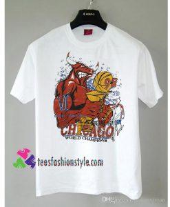 Vintage 90s Chicago Bulls 1998 NBA World