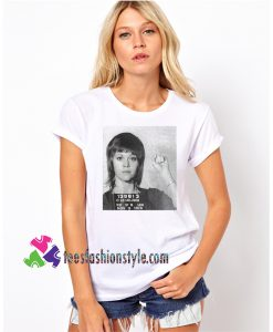 Young Jane Fonda Mugshot, Actress Inspired Unisex