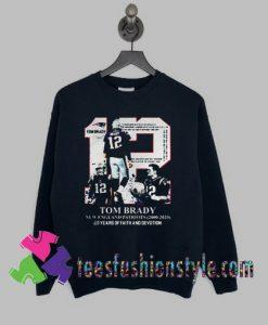 Tom Brady New England Sweatshirts