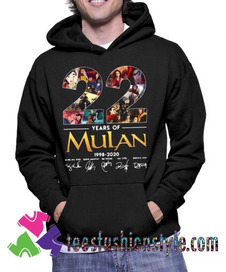 Mulan Movie 1998-2020 Hoodie
