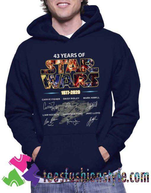 Star Wars 1977 2020 signature Hoodie