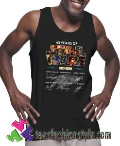 Star Wars 1977 2020 signature Tank Top