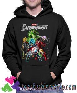 Avengers Dragon Ball Saiyavengers Hoodie By Teesfashionstyle.com