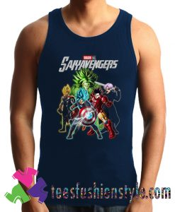 Avengers Dragon Ball Saiyavengers Tank Top For Unisex