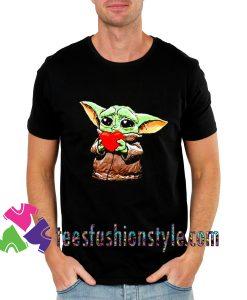 Cute Baby Yoda Boyfriend 2020 T shirt For Unisex