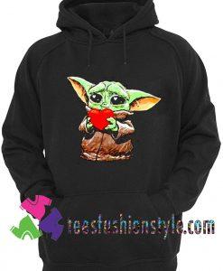 Cute Baby Yoda Boyfriend 2020 Unisex Hoodie
