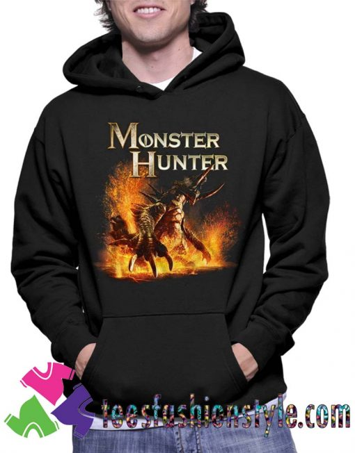 Details about Monster Hunter Beast American Classics Hoodie