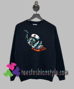 Funny Halloween Zombie Nurse Sweatshirts