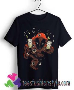 Marvel Comics Deadpool Empty Clips T shirt For Unisex