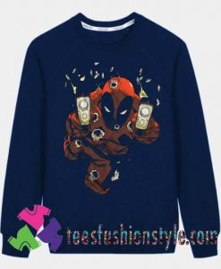 Marvel Comics Deadpool Sweatshirts